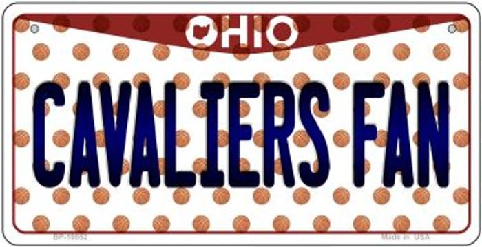 Cavaliers Fan Ohio Novelty Metal Bicycle Plate BP-10852