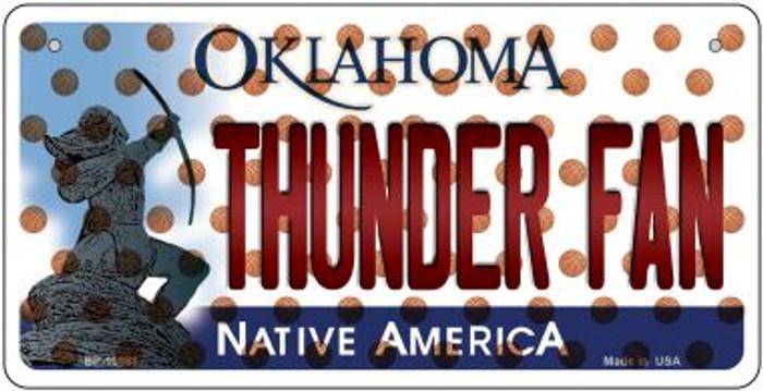 Thunder Fan Oklahoma Novelty Metal Bicycle Plate BP-10868