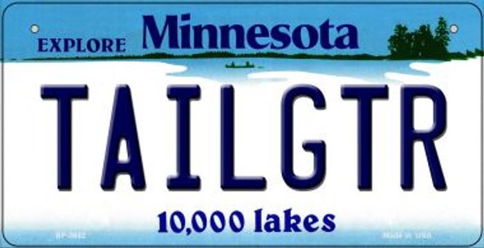 Tailgtr Minnesota Novelty Metal Bicycle Plate BP-3682