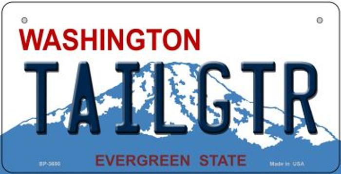 Tailgtr Washington Novelty Metal Bicycle Plate BP-3690
