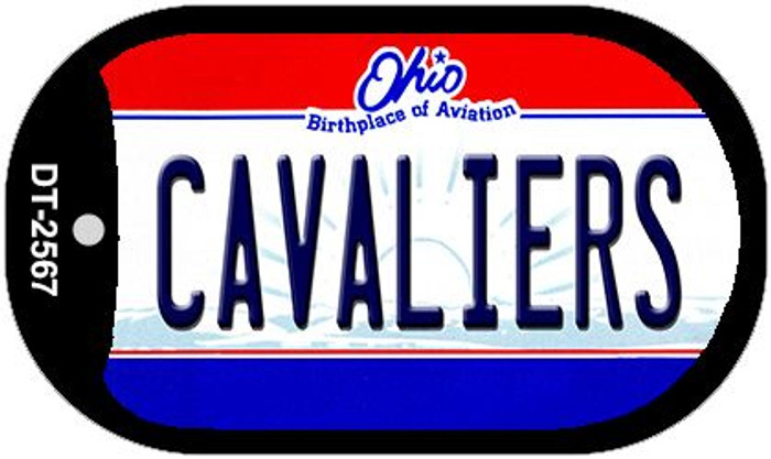 Cavaliers Ohio Novelty Metal Dog Tag Necklace DT-2567