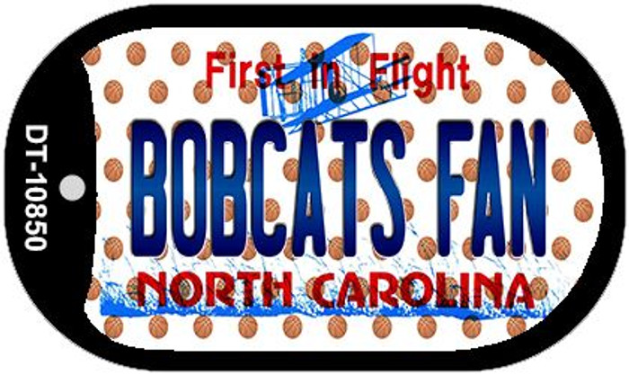 Bobcats Fan North Carolina Novelty Metal Dog Tag Necklace DT-10850