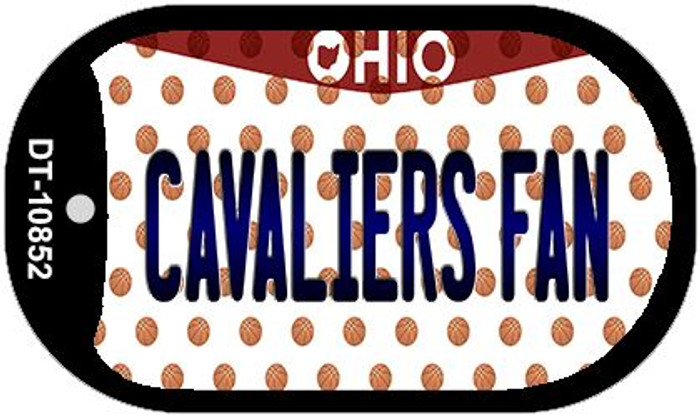 Cavaliers Fan Ohio Novelty Metal Dog Tag Necklace DT-10852