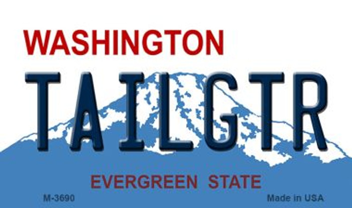 Tailgtr Washington Novelty Metal Magnet M-3690