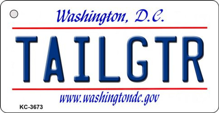 Tailgtr Washington DC Novelty Metal Key Chain KC-3673
