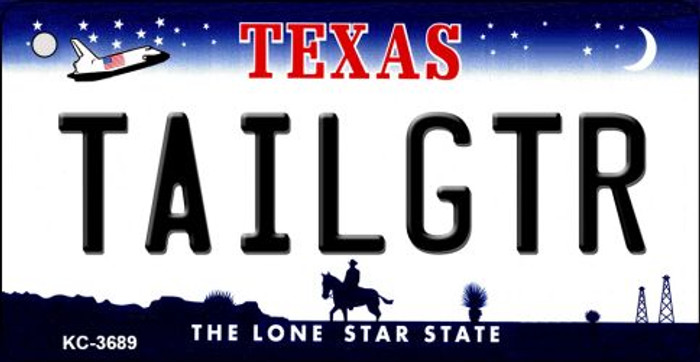 Tailgtr Texas Novelty Metal Key Chain KC-3689