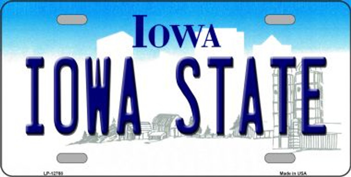 Iowa State Novelty Metal License Plate LP-12768