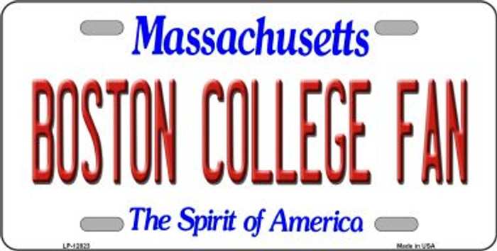 Boston College Fan Novelty Metal License Plate LP-12823