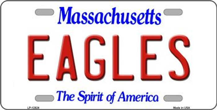 Eagles Novelty Metal License Plate LP-12824