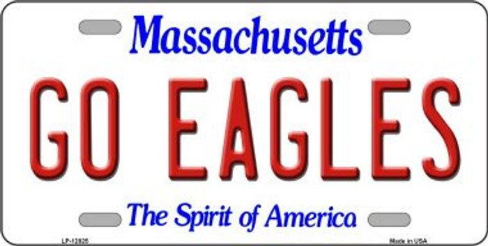 Go Eagles Novelty Metal License Plate LP-12825
