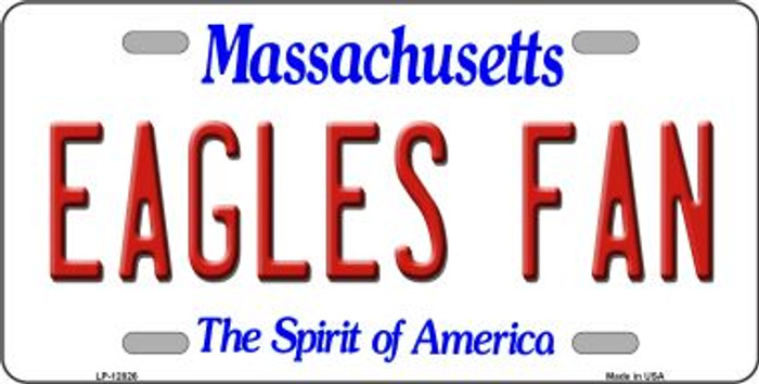 Eagles Fan Novelty Metal License Plate LP-12826