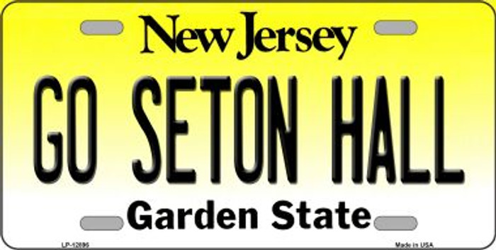 Go Seton Hall Novelty Metal License Plate LP-12896