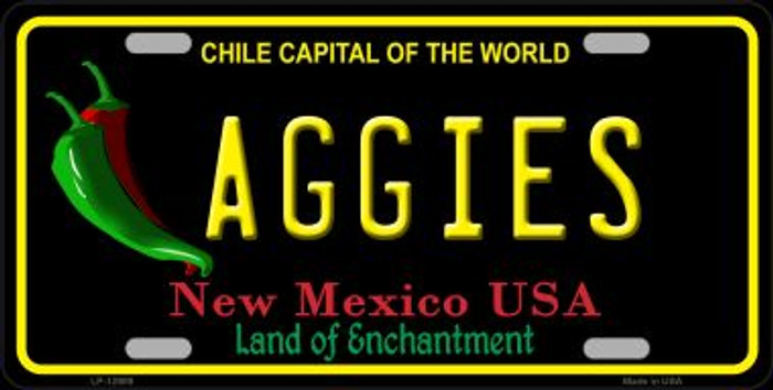 Aggies Novelty Metal License Plate LP-12909
