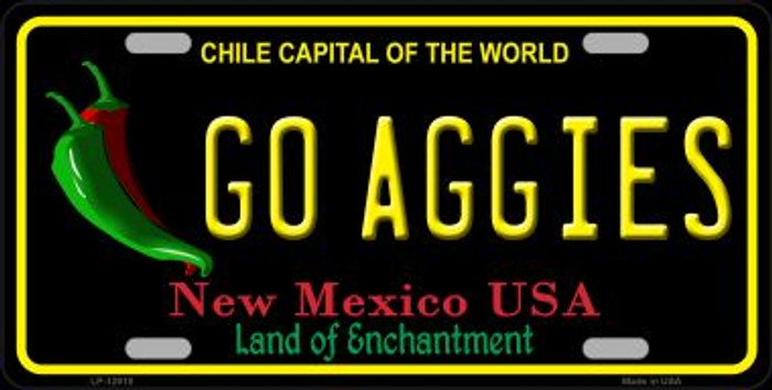 Go Aggies Novelty Metal License Plate LP-12910