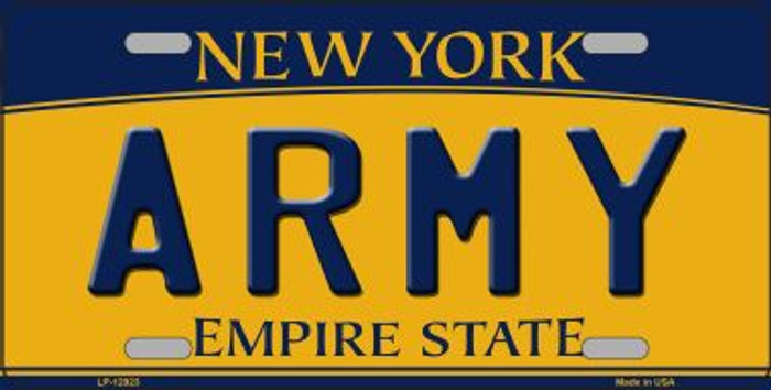 Army Novelty Metal License Plate LP-12923
