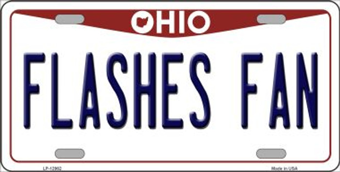 Flashes Fan Novelty Metal License Plate LP-12962