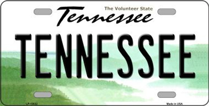 Tennessee Novelty Metal License Plate LP-13022
