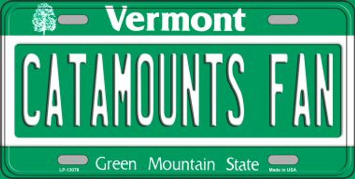 Catamounts Fan Novelty Metal License Plate LP-13078