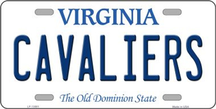 Cavaliers Novelty Metal License Plate LP-13081