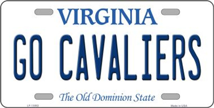 Go Cavaliers Novelty Metal License Plate LP-13082