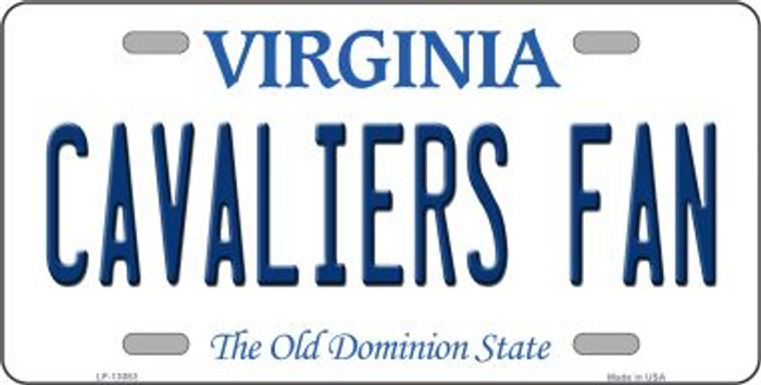 Cavaliers Fan Novelty Metal License Plate LP-13083