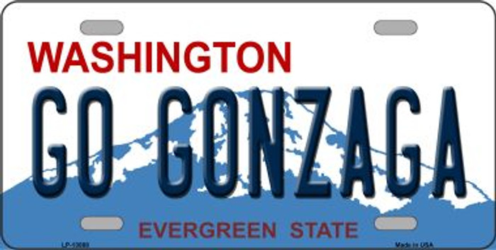 Go Gonzaga Novelty Metal License Plate LP-13088