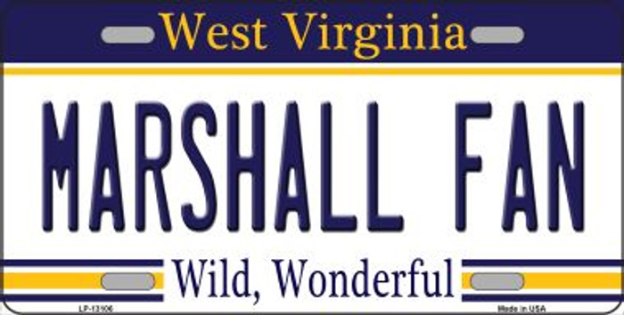 Marshall Fan Novelty Metal License Plate LP-13106