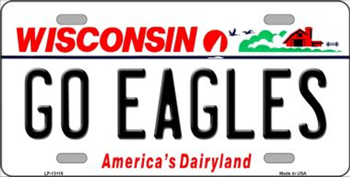 Go Eagles Novelty Metal License Plate LP-13118