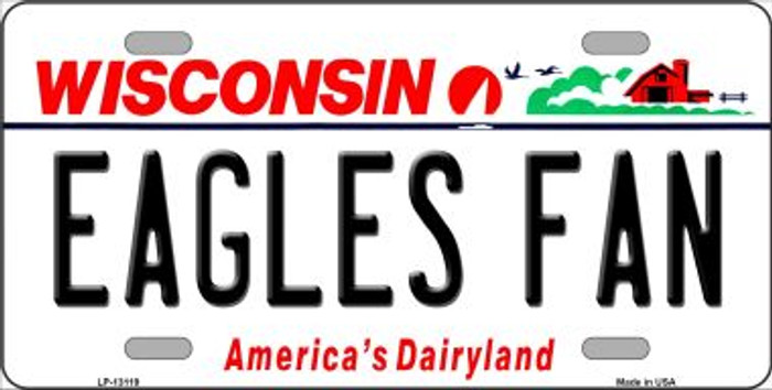 Eagles Fan Novelty Metal License Plate LP-13119