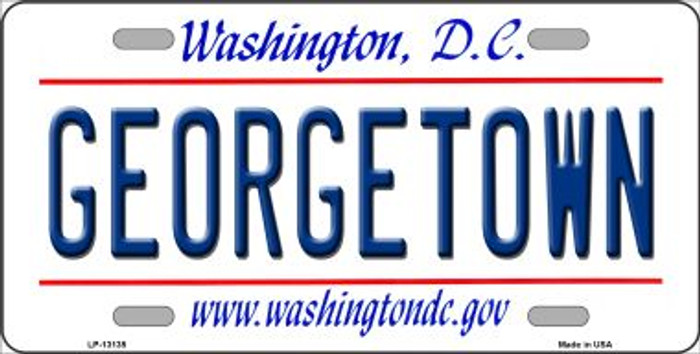 Georgetown Novelty Metal License Plate LP-13135