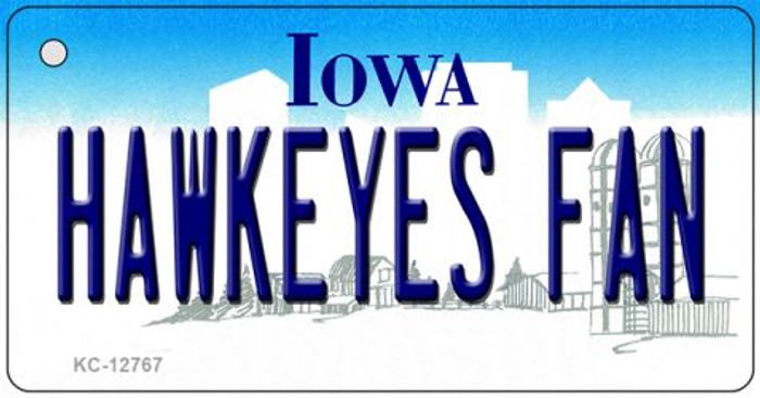Hawkeyes Fan Novelty Metal Key Chain KC-12767