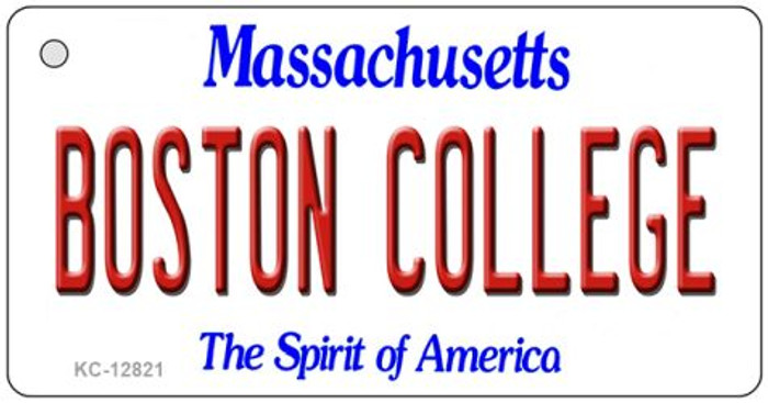Boston College Novelty Metal Key Chain KC-12821