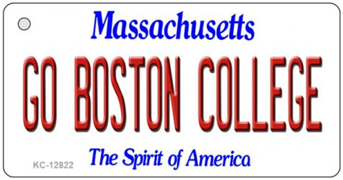 Go Boston College Novelty Metal Key Chain KC-12822