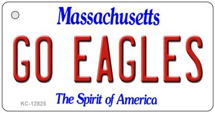 Go Eagles Novelty Metal Key Chain KC-12825
