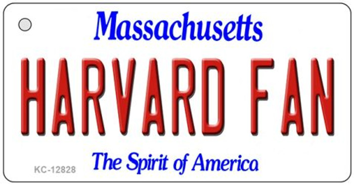 Harvard Fan Novelty Metal Key Chain KC-12828