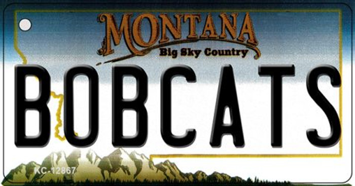 Bobcats Novelty Metal Key Chain KC-12867