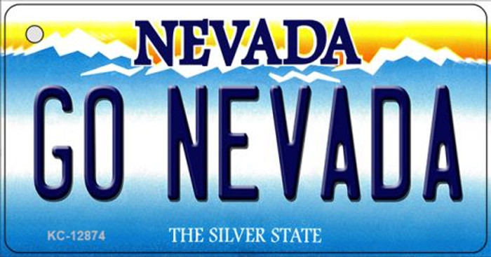 Go Nevada Novelty Metal Key Chain KC-12874