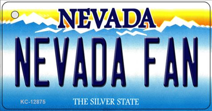 Nevada Fan Novelty Metal Key Chain KC-12875