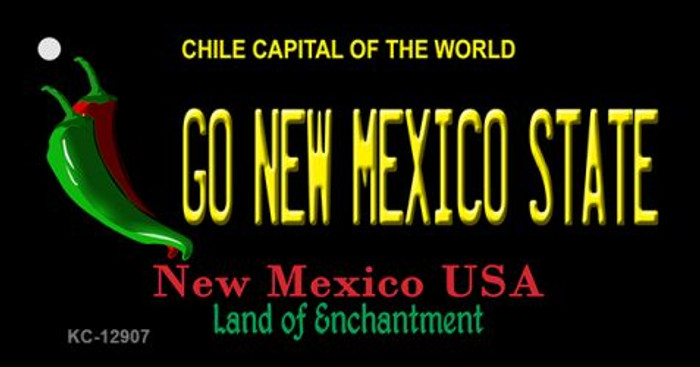 Go New Mexico State Novelty Metal Key Chain KC-12907