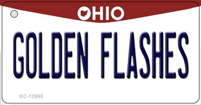Golden Flashes Novelty Metal Key Chain KC-12960