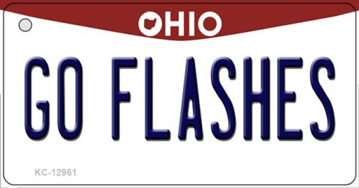 Go Flashes Novelty Metal Key Chain KC-12961
