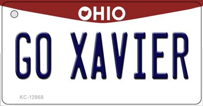 Go Xavier Novelty Metal Key Chain KC-12968