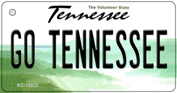Go Tennessee Novelty Metal Key Chain KC-13023