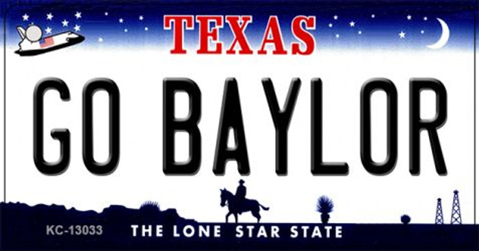 Go Baylor Novelty Metal Key Chain KC-13033