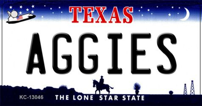 Aggies Novelty Metal Key Chain KC-13046