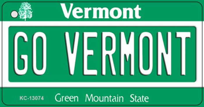 Go Vermont Novelty Metal Key Chain KC-13074