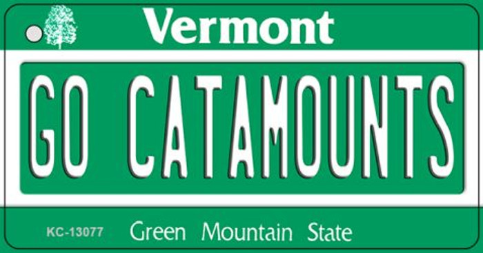 Go Catamounts Novelty Metal Key Chain KC-13077