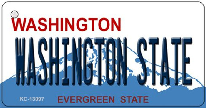 Washington State Novelty Metal Key Chain KC-13097