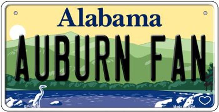 Auburn Fan Novelty Metal Bicycle Plate BP-12618