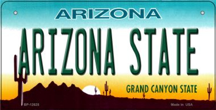 Arizona State Novelty Metal Bicycle Plate BP-12625